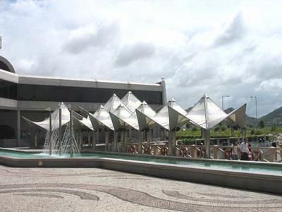 公园遮雨棚安装施工