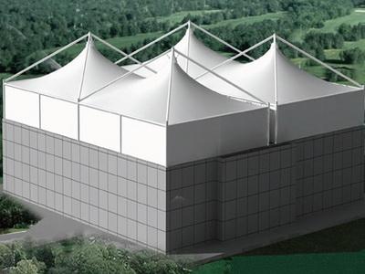 污水池膜结构施工