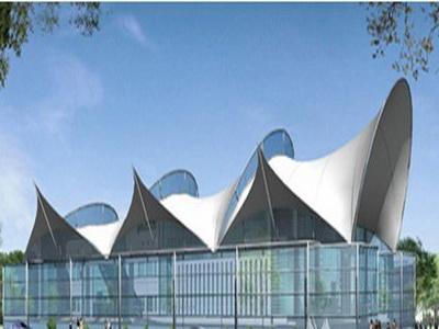 岳西县毛尖山乡集镇建成区综合文化广场-篮球场、网球场膜结构