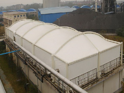 濮阳同力水泥有限公司污水池膜结构