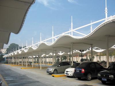 法拉利膜结构停车棚